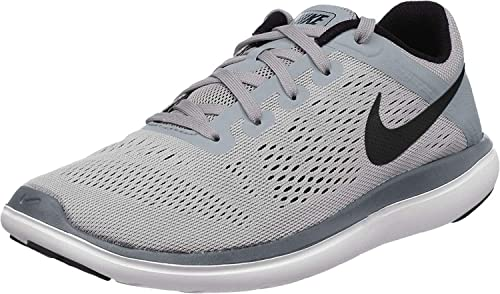 Nike Flex 2016 RN (GS) Boys Running Shoe #834275-002 (4 Big Kid M ...