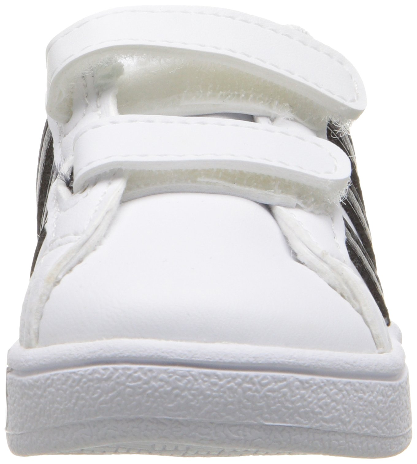 adidas Performance Baby Baseline Sneaker, White/Black/White, 6.5K M US Toddler by adidas (Image #4)