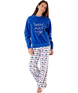 e93309dc4 Ladies Stars Fleece Pyjamas Set