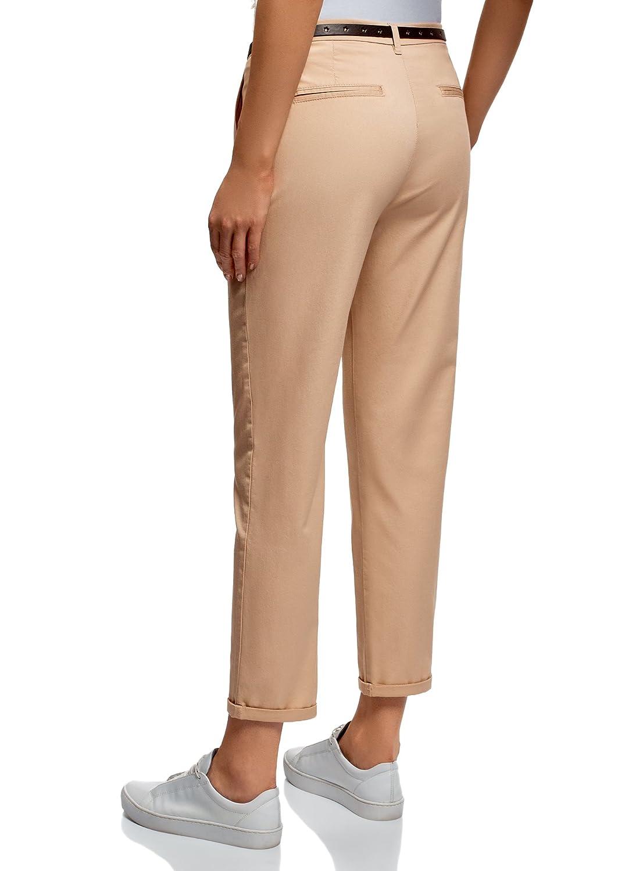 oodji Ultra Mujer Pantalones Chinos Básicos: Amazon.es: Ropa y accesorios