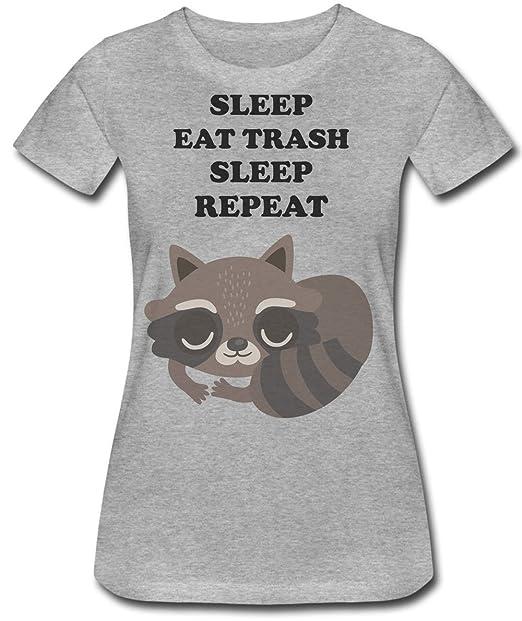 Finest Prints Sleep Eat Trash Sleep Repeat Racoon's Routine