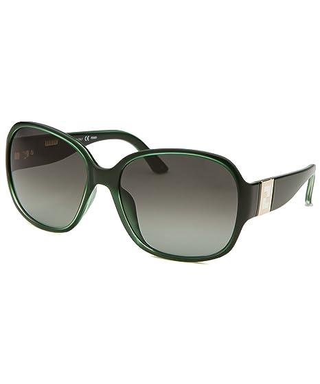 Fendi Womens Square Sunglasses - Green at Amazon Womens ...