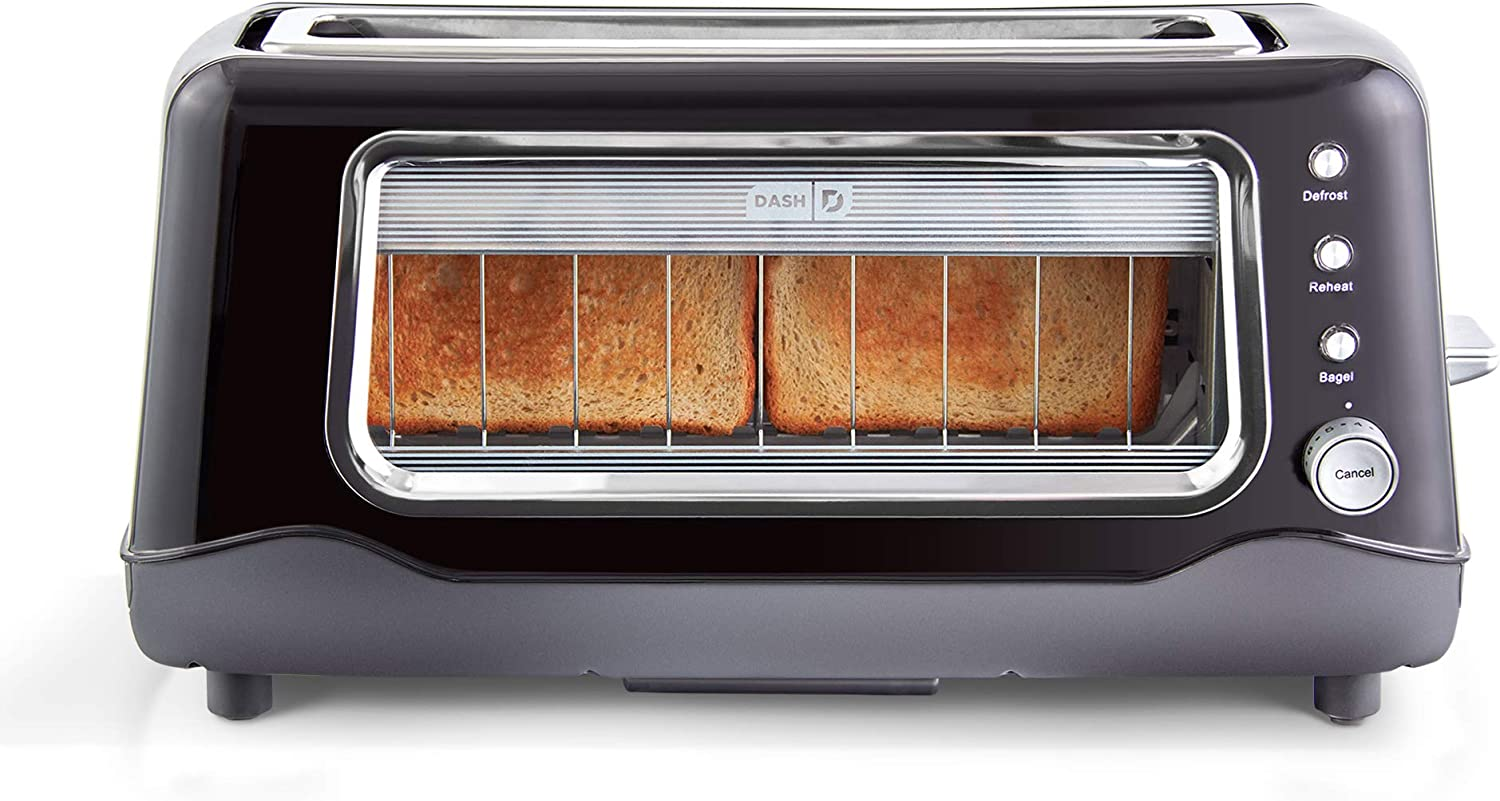 Dash DVTS501BK Toaster, 2 Slice, Black