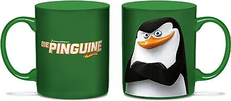 Los pingüinos de Madagascar taza Skipper no: Amazon.es: Hogar