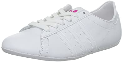 adidas Originals Damen Campus Round W Sneaker, Weiß-Blanc (G64071), 38 bf1cfcc4ba56