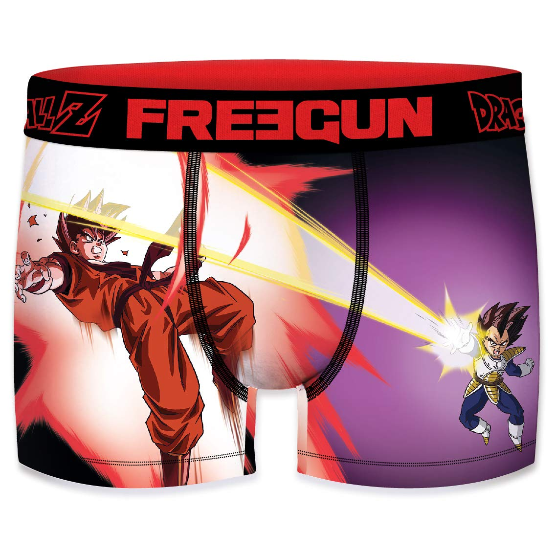 FREEGUN Boxershorts Herren Dragon Ball Z San Goku Vs Vegeta