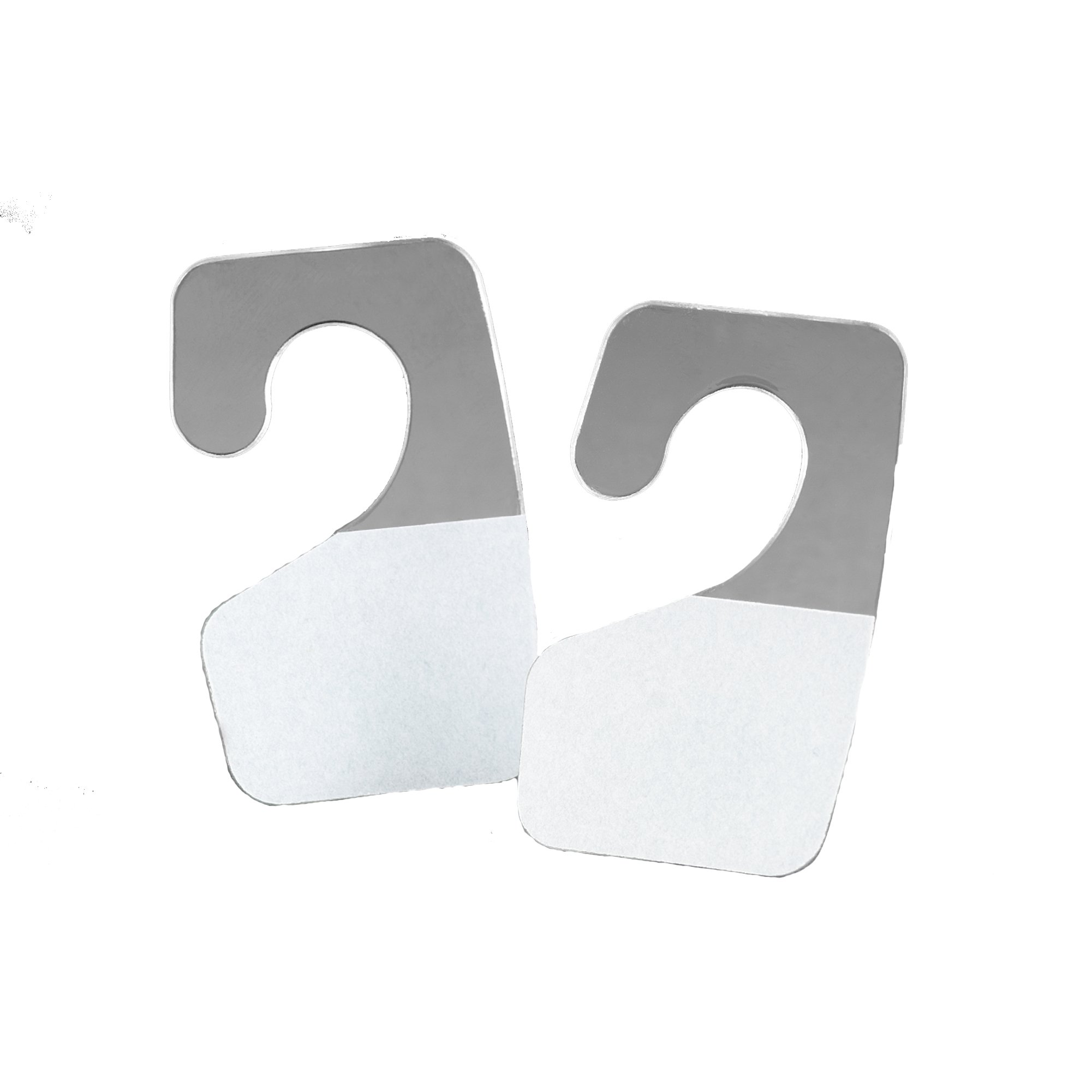 3M ScotchPad Hang Tab 1072 Clear, 7/8 in x 1 3/8 in (Case of 500) by 3M