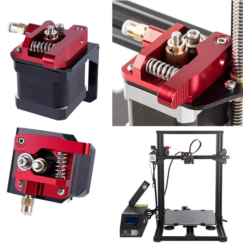 Aluminum Bowden Extruder 3D Printer MK-8 Extruder Feeder Drive Kit for CR-10 Right Hand Version
