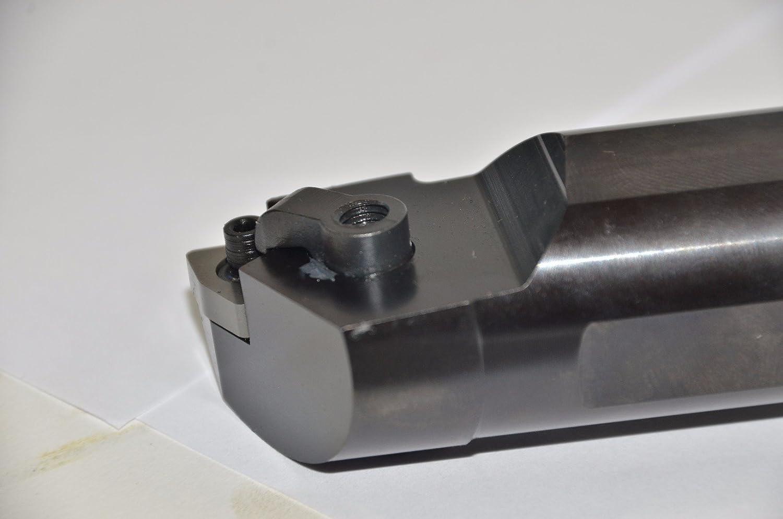 Left Steel Shank Mitsubishi Materials S-MWLNL-204 S-MWLN Series Multiple Clamp Boring Bar with 0.500 IC Trigon Insert 1.250 Shank Dia 1.530 Minimum Cutting Dia. 95/° Cutting Angle