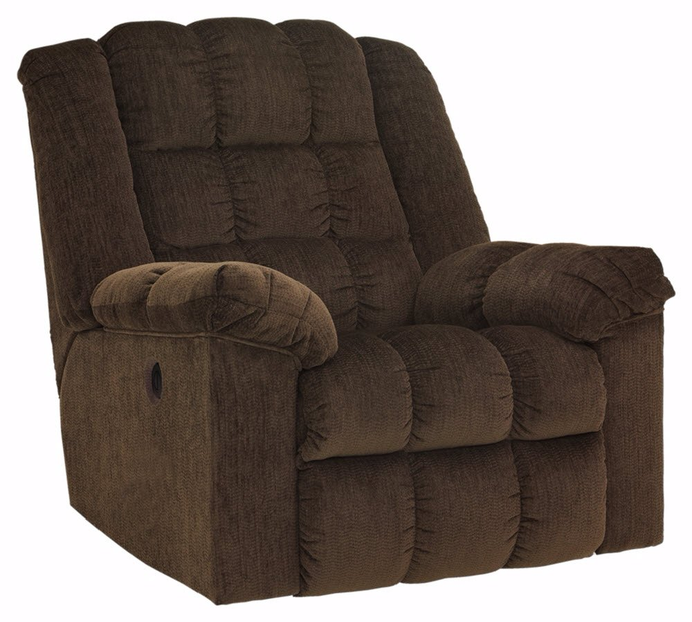 Ashley Furniture Signature Design - Ludden Recliner - One Touch Power Control - Cocoa