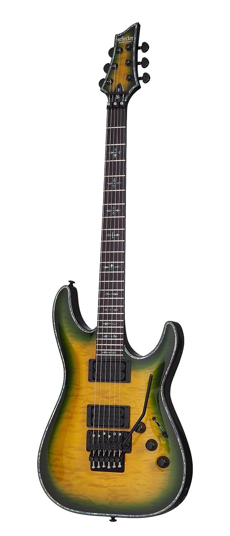 Schecter Hellraiser c-vi barítono cuerdas para guitarra eléctrica, Negro cereza: Amazon.es: Instrumentos musicales