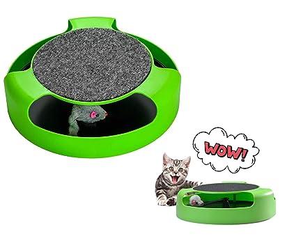 Ducomi - Juego Interactivo para Gatos con rascador - Juegos ...