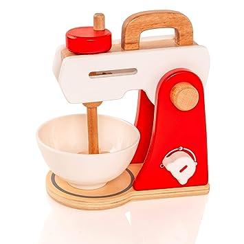 VIGA # 50235 - Juguete de Cocina batidora de Madera: Amazon.es: Juguetes y juegos