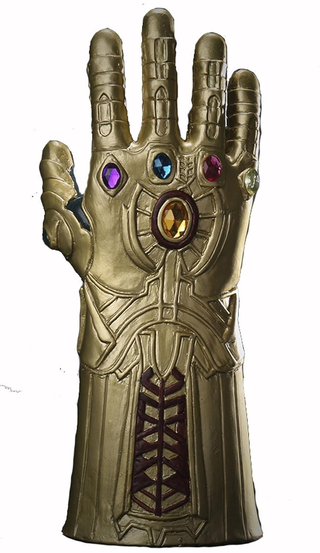 YK Máscara de Látex Thanos Avengers 3cos Halloween Mask Heroes Infinity Gauntlet Men Juego (Gold): Amazon.es: Juguetes y juegos