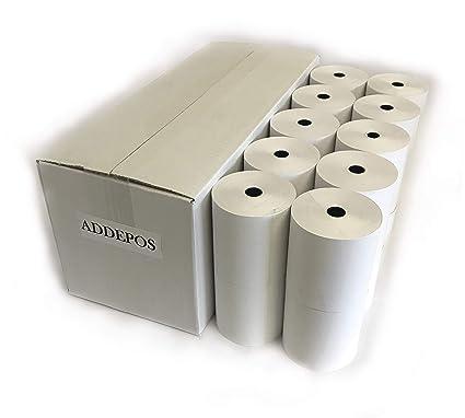 ADDEPOS - Rollo de papel térmico para caja registradora (20 ...
