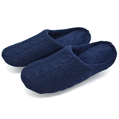 Amazon Youtouchlife Womens Cable Knit Slippers Winter