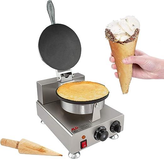 Electric Egg Ice Cream Cone Machine Cone Making Machine Waffle Baker Maker 110V