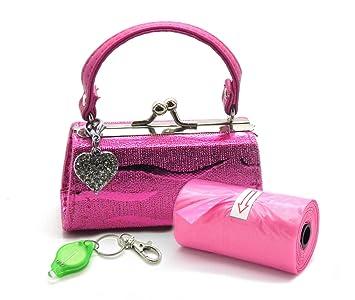 Amazon.com: Dispensador de bolsas de Poo con Purse – Glitter ...