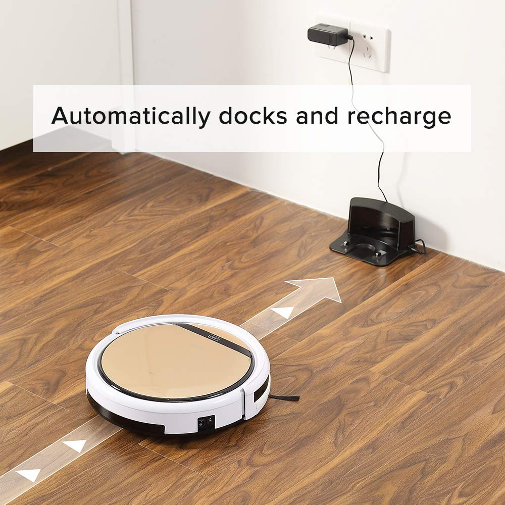 ILIFE V5s Pro Robot Vacuum Mop Cleaner with Water Tank, Automatically Sweeping Scrubbing Mopping Floor Cleaning Robot by ILIFE