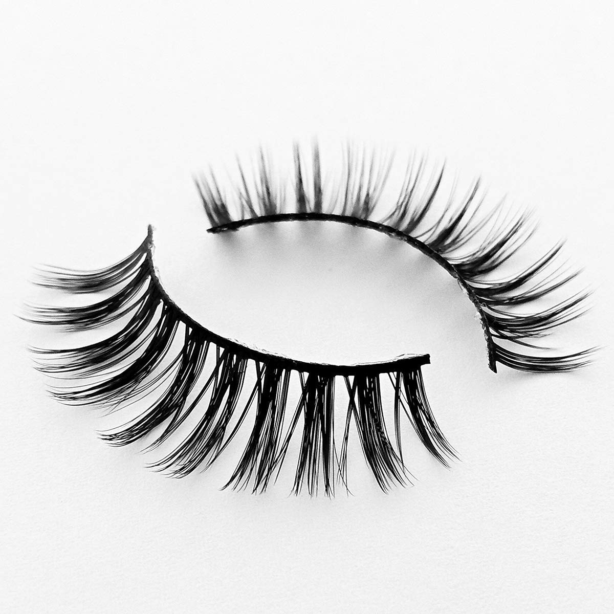 3D Wispies False Eyelashes Long Lashes With Volume for Women's Make Up Bulk Extensions Handmade Soft Fake Eye lash,5 Pairs