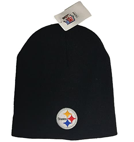 8880414a7 Image Unavailable. Image not available for. Color  Pittsburgh Steelers NFL  Knit Beanie Hat