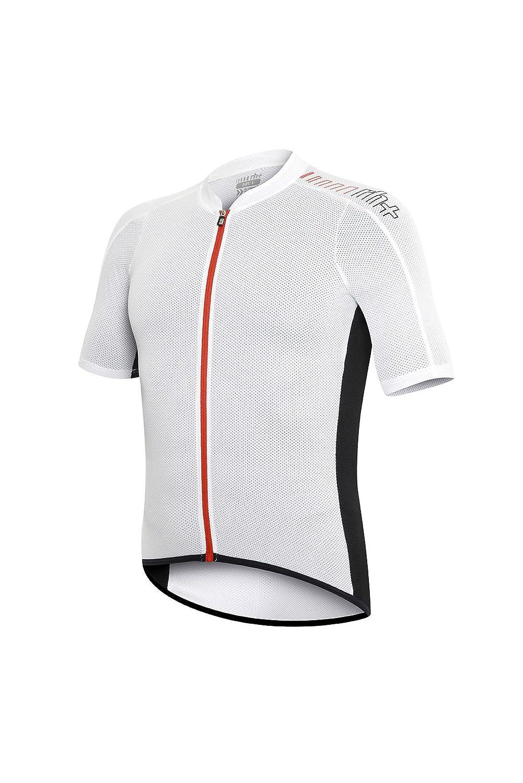 R H AirX Lite, T-Shirt Herren, Herren, Airx Lite, Weiß Rot