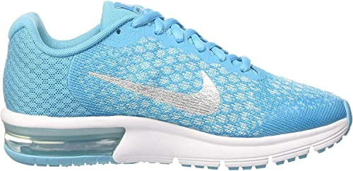 Nike Air MAX Sequent 2 GS, Zapatillas para Niños, Turquesa ...