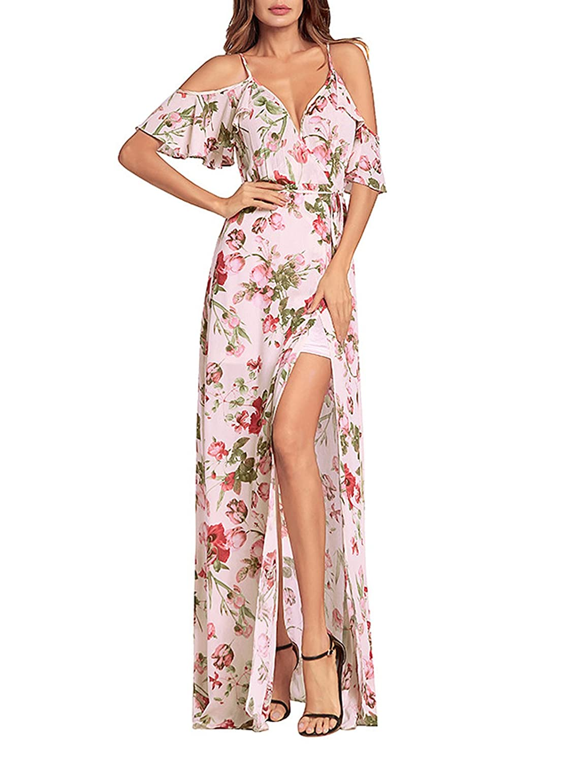 b1d0e2ca890 Easy-wear pieces with rose flower prints and super-soft polyester, fabric  make up the dresss festival-ready collection.