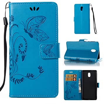 new product d359d d2a39 COWX Nokia 3 Book Style PU Leather Case Flip Cover Case: Amazon.co ...