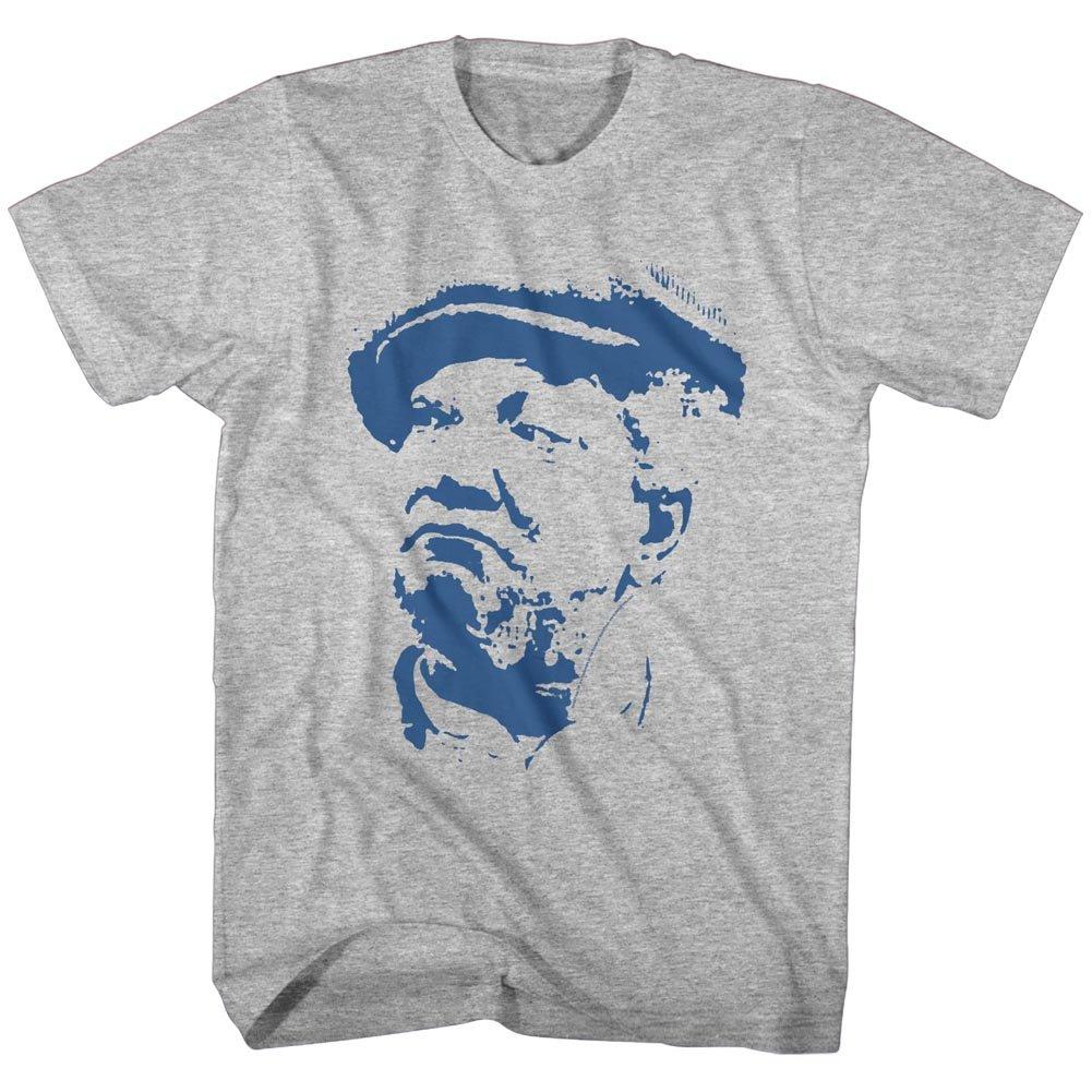 Redd Foxx 1970s Big Dummy Comedy Sanford And Son Sitcom Adult Gray Tshirt Tee