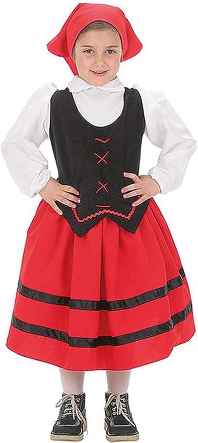 EL CARNAVAL Disfraz Pastora Talla de 6 a 8 años: Amazon.es ...