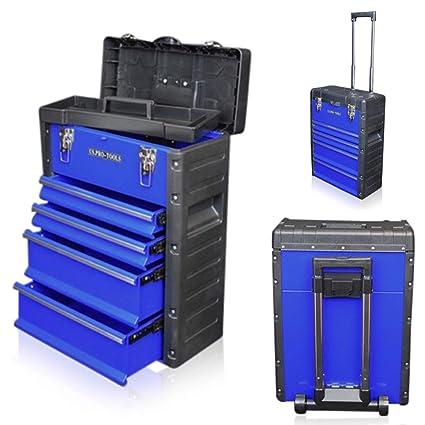 US Pro Tools - Caja de herramientas móvil, carrito-armario ...