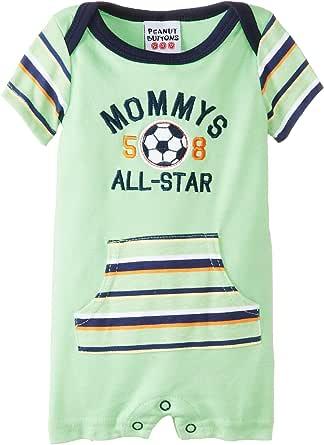 Amazon.com: Peanut Buttons Baby Newborn Boy Soccer Romper ...