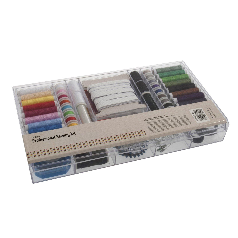 Groves 167 Piece Professional Sewing Kit, Multi-Colour, 30.5 x 17.5 x 4 cm 167P9605000