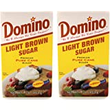 Domino Light Brown Sugar 1 Lb 2 Pack