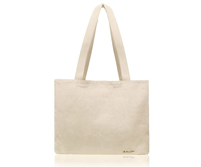 94aa8f9f9 All Cotton and Linen - Canvas Tote Bag - Tote Bags Cotton - Shopping Bag - Cotton  Shopping Bags - Canvas Tote Bag Plain - Cotton Shopper Bag - Shoulder Bag  ...