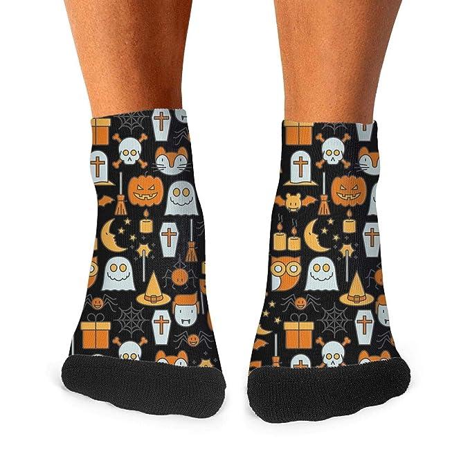 Pumpkin or Spider Halloween Socks