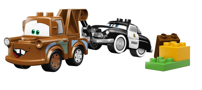 amazon com lego duplo cars mater u0027s yard 5814 toys u0026 games