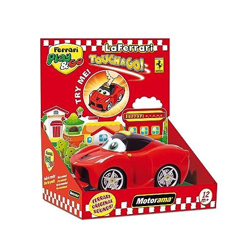Motorama 502118–Trigger première enfance Play & Go la Ferrari Touch and Goâ€