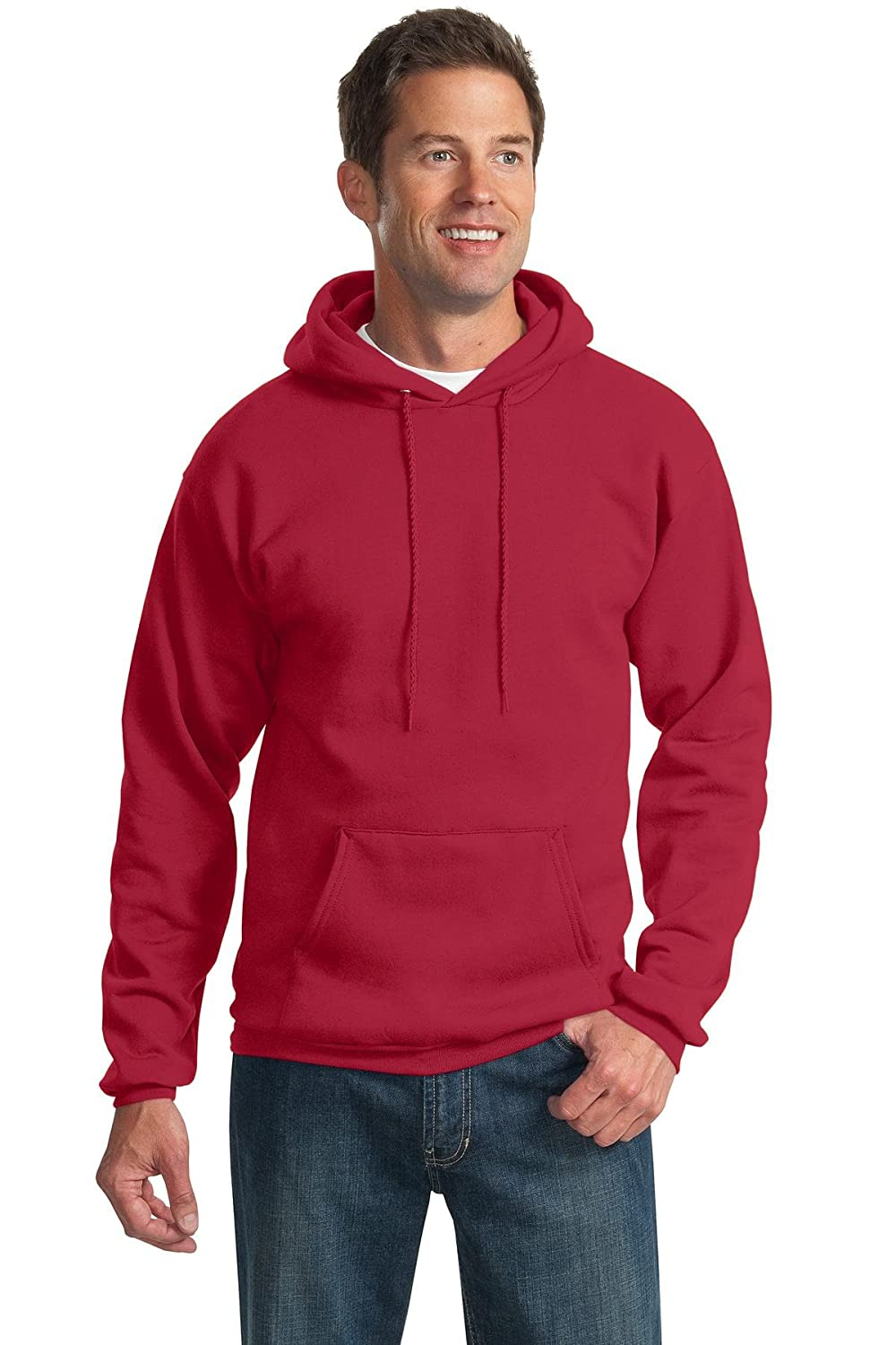 Port /& Company Mens Tall Ultimate Hooded Sweatshirt
