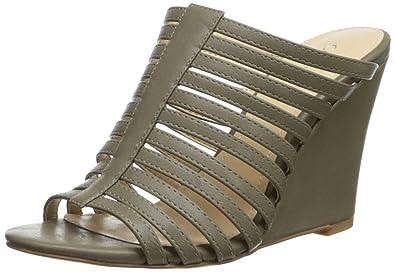 a1809a546f Amazon.com   Calvin Klein Women's Phillipa Wedge Sandal   Platforms ...