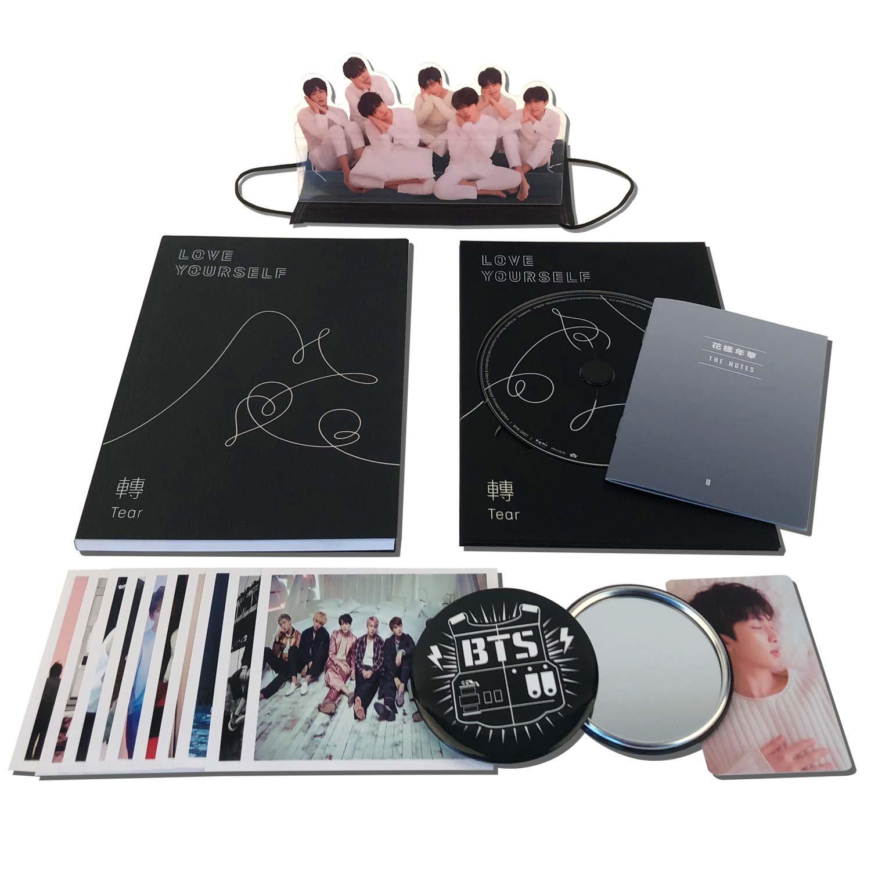 BTS 3rd Album - LOVE YOURSELF ? TEAR [ U ver. ] CD + Photobook + Mini Book + Photocard + Standing Photo + Folded Poster + FREE GIFT / K-POP Sealed