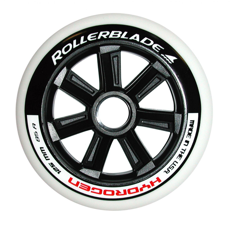 Rollerblade Hydrogen 125 mm 85 A wheels &ヘッドバンドバンドル ブラック 125 mm