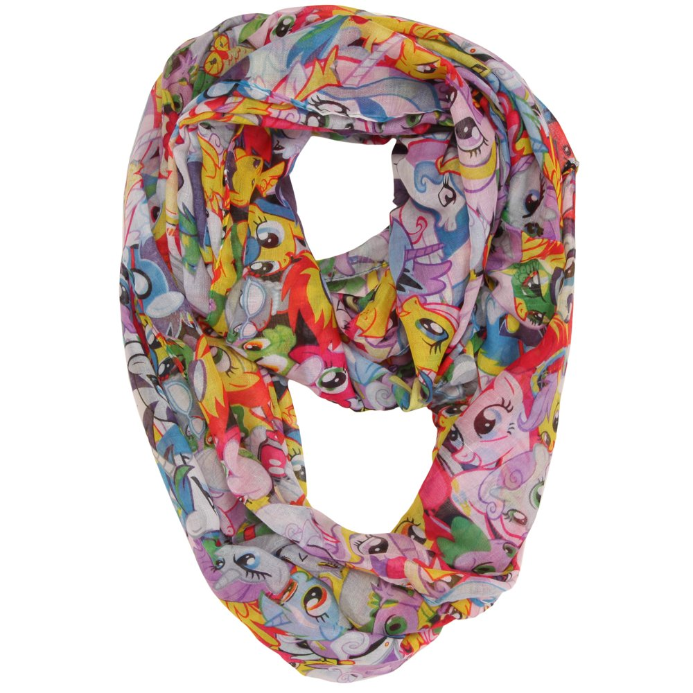 My Little Pony All Over Print Fashion Infinity Scarf SF3SXWLPT
