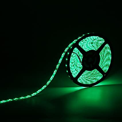 Amazon waterproof ip65 led strip lights 3528 164 ft 5m waterproof ip65 led strip lights 3528 164 ft 5m 300leds 60ledsm aloadofball Image collections