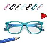 Penbea Kids Blue Light Blocking Glasses - Blue Light Glasses for Kids Girls Boys Age 7-12, Fake Glasses Anti Bluelight…