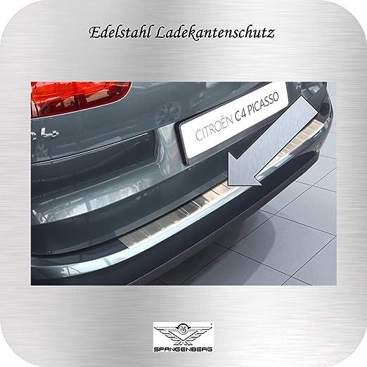 Spangenberg - Protección para el Borde del Maletero, Acero Inoxidable, para Citroen C4 Picasso II Van Combi, a Partir de año de fabricación 02.2013, ...