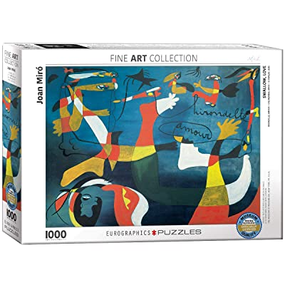 EuroGraphics Swallow Love by Joan Miro (1000 Piece) Puzzle: Toys & Games