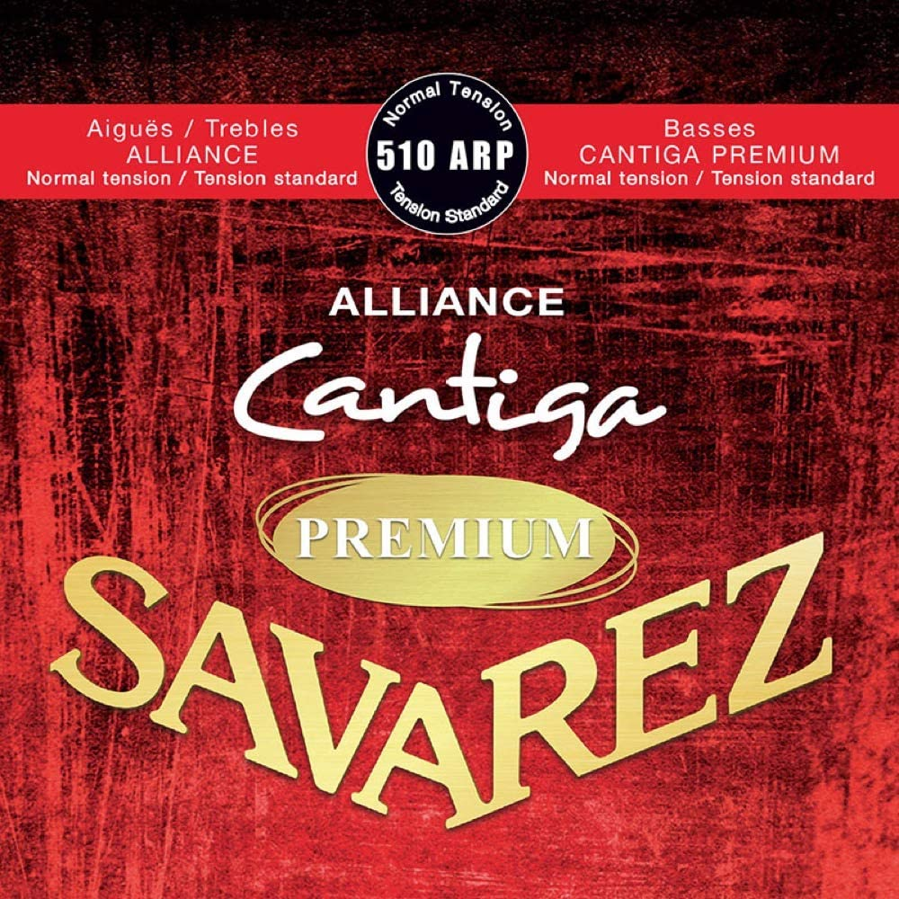 Savarez 510ARP Cuerdas para Guitarra Clásica Alliance Cantiga Premium Juego Tensión Normal