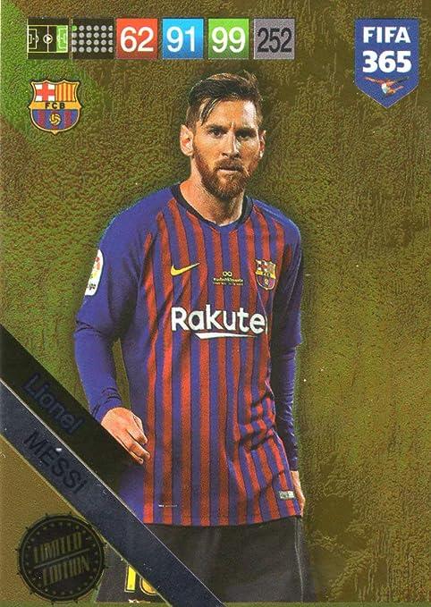 Amazon.com: FIFA 365 2019 PANINI ADRENALYN XL Lionel Messi ...
